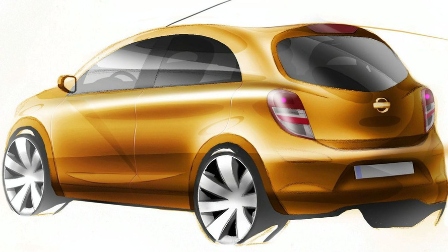 Nissan Reveals New Micra Sketches