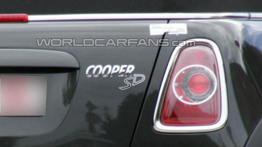 2011 MINI Cooper S diesel spied undisguised