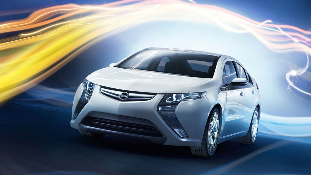 Opel will launch the 2017 electric model Ampera-e 48