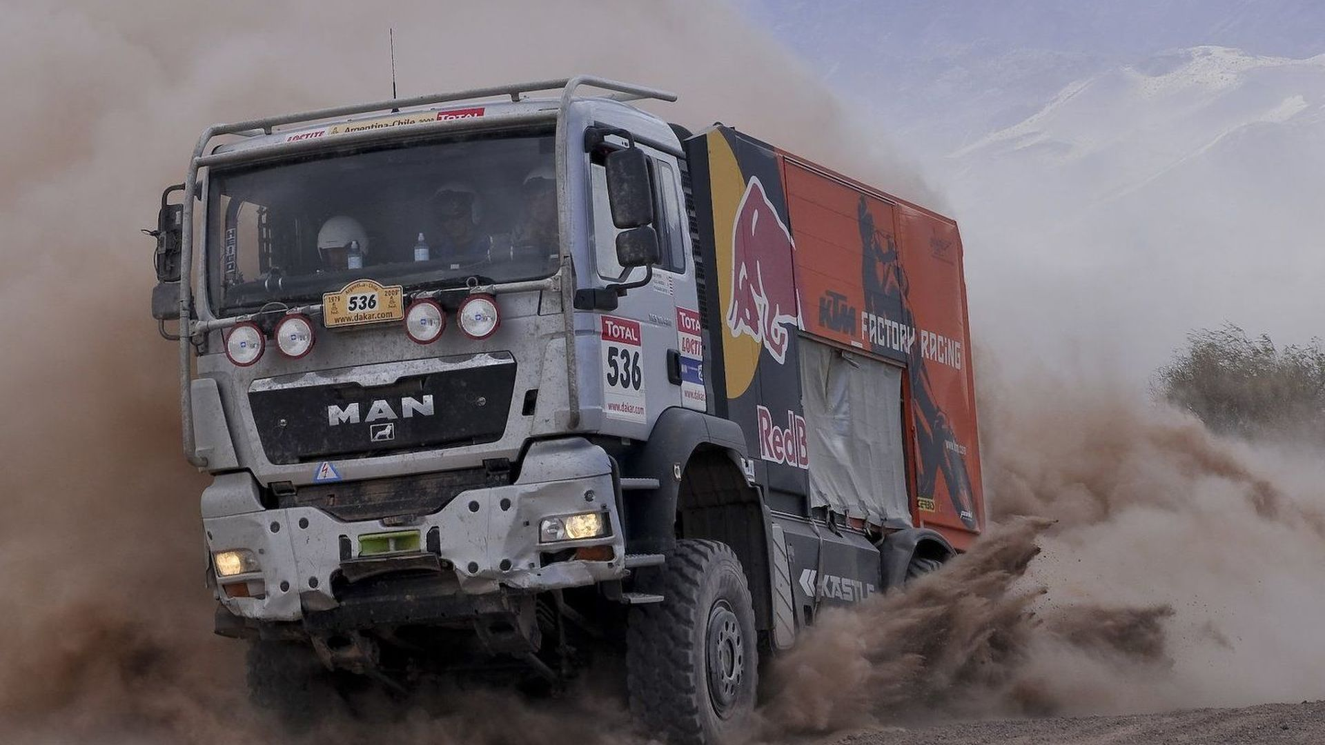 Smugglers Busted In Fake Dakar Rally Truck With 800 Kilos Of