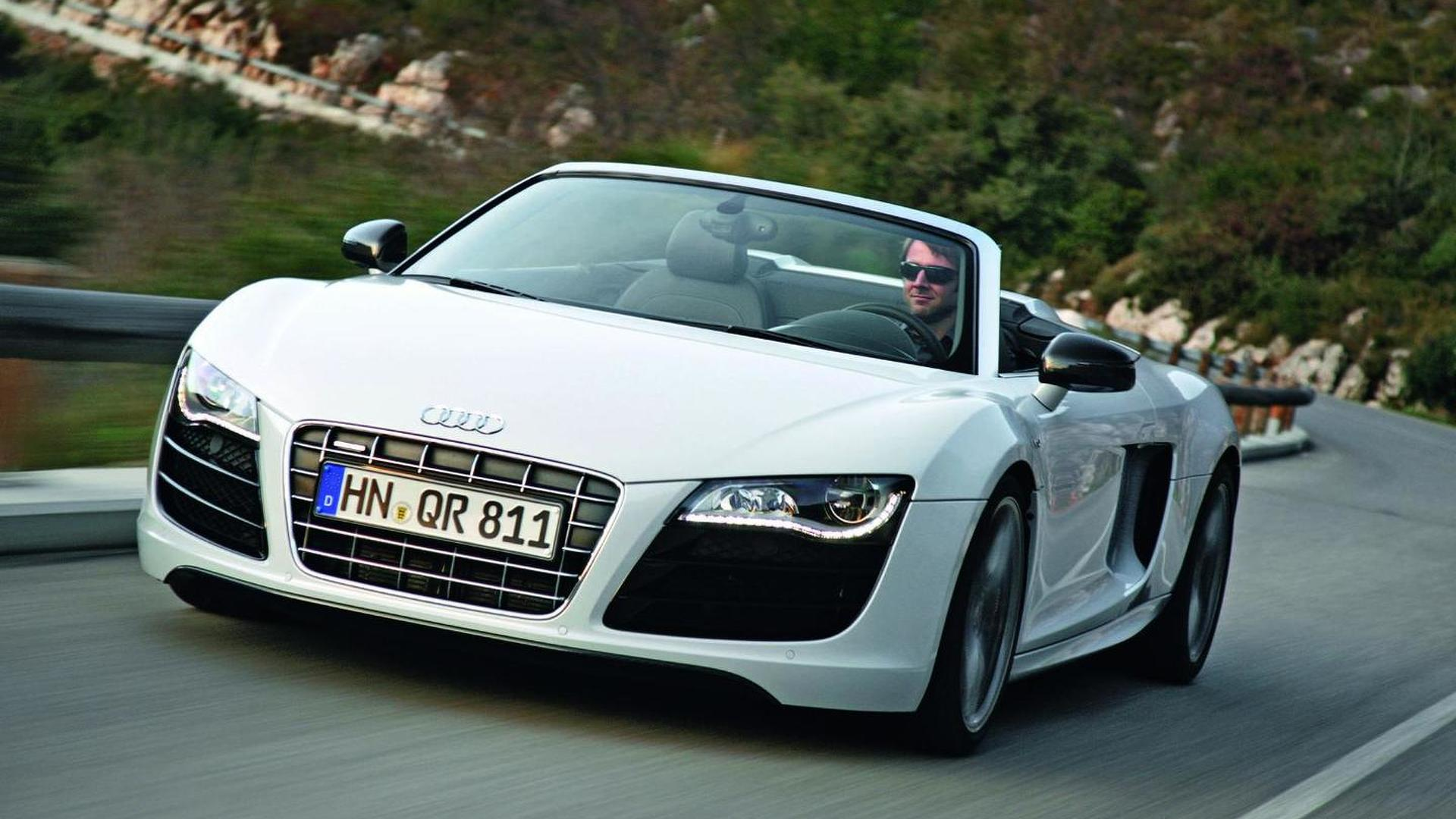 Audi R8 Spyder Now Available With 42 Fsi V8 Engine