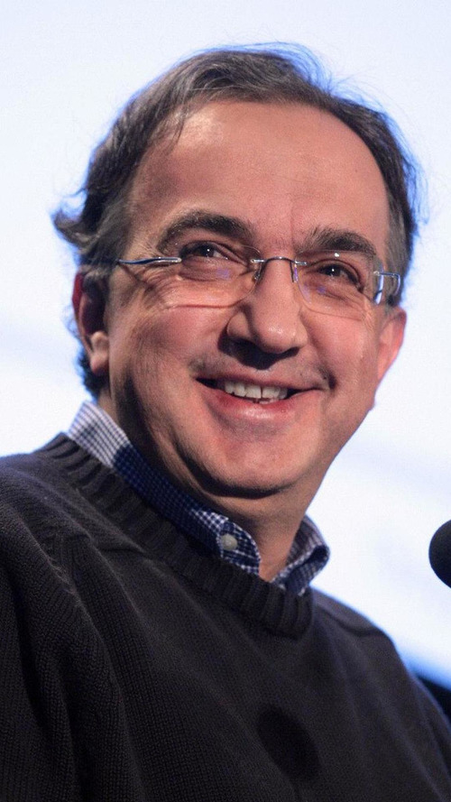 Fiat-Chrysler CEO Sergio Marchionne