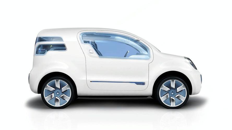 Renault Kangoo Zero Emission Z.E. Concept [Video]