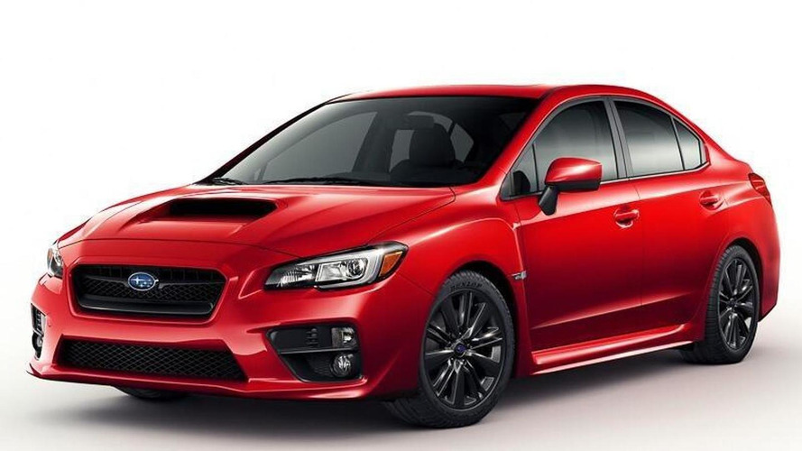 2015 Subaru WRX (not confirmed)