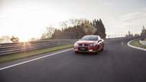 Holden SS V Redline Ute at the Nurburgring 28.6.2013