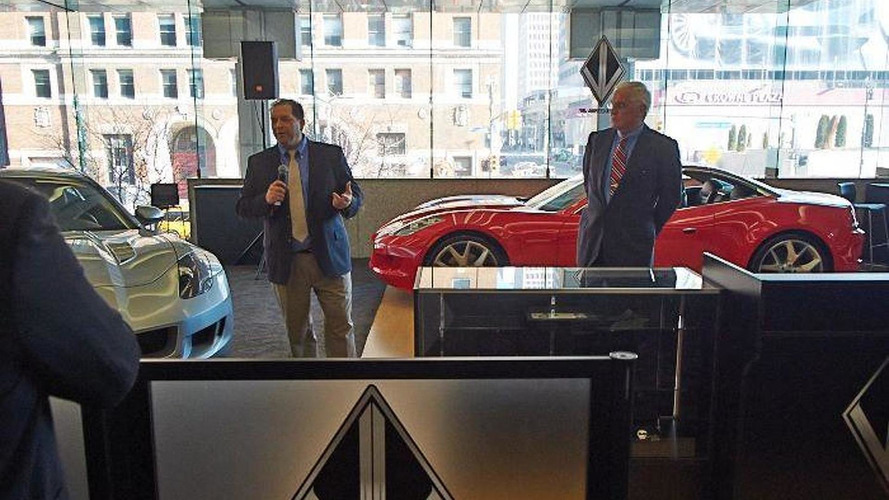 VL Automotive Destino Red concept bows in Detroit