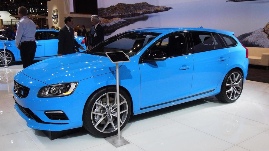 Volvo S60 & V60 Polestar shown in Chicago, have 345 bhp