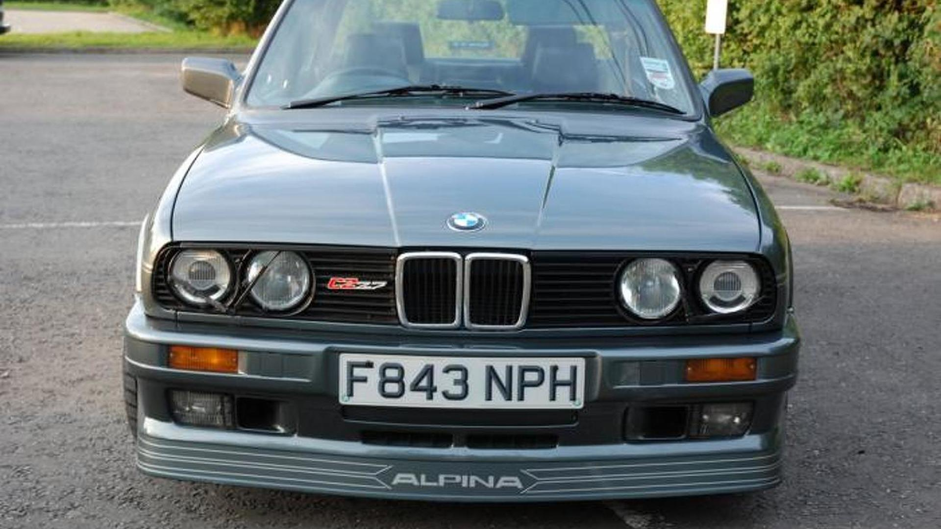 Rare 1988 E30 Alpina C2 2 7 Goes To Auction