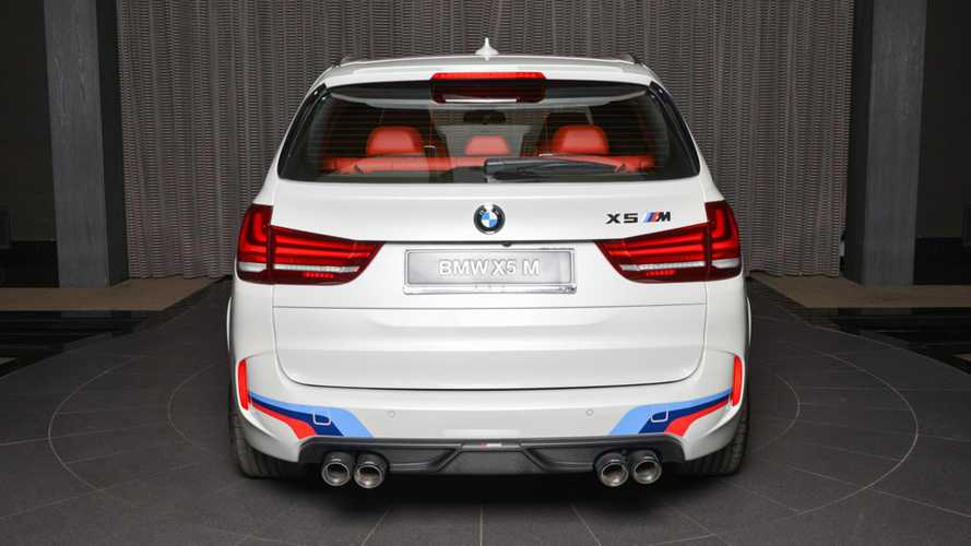 BMW X5 M transformado Abu Dhabi Motors