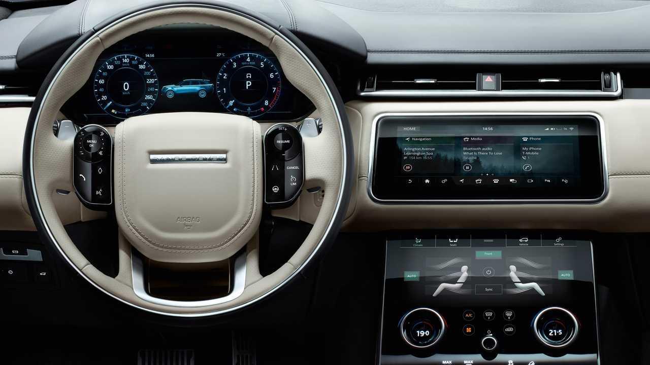 Range Rover Velar – 10 pouces