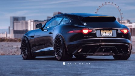 F-Type Shooting Brake Is The Sporty Wagon Jaguar Won't Make