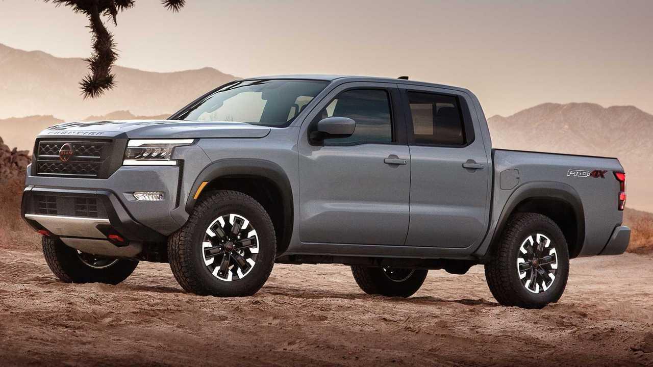 Nova Nissan Frontier 2022 - EUA