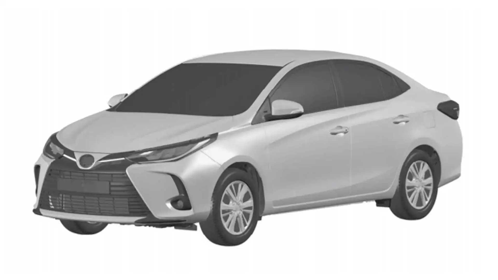 Toyota Yaris Sedan 2023 - Registro no Brasil