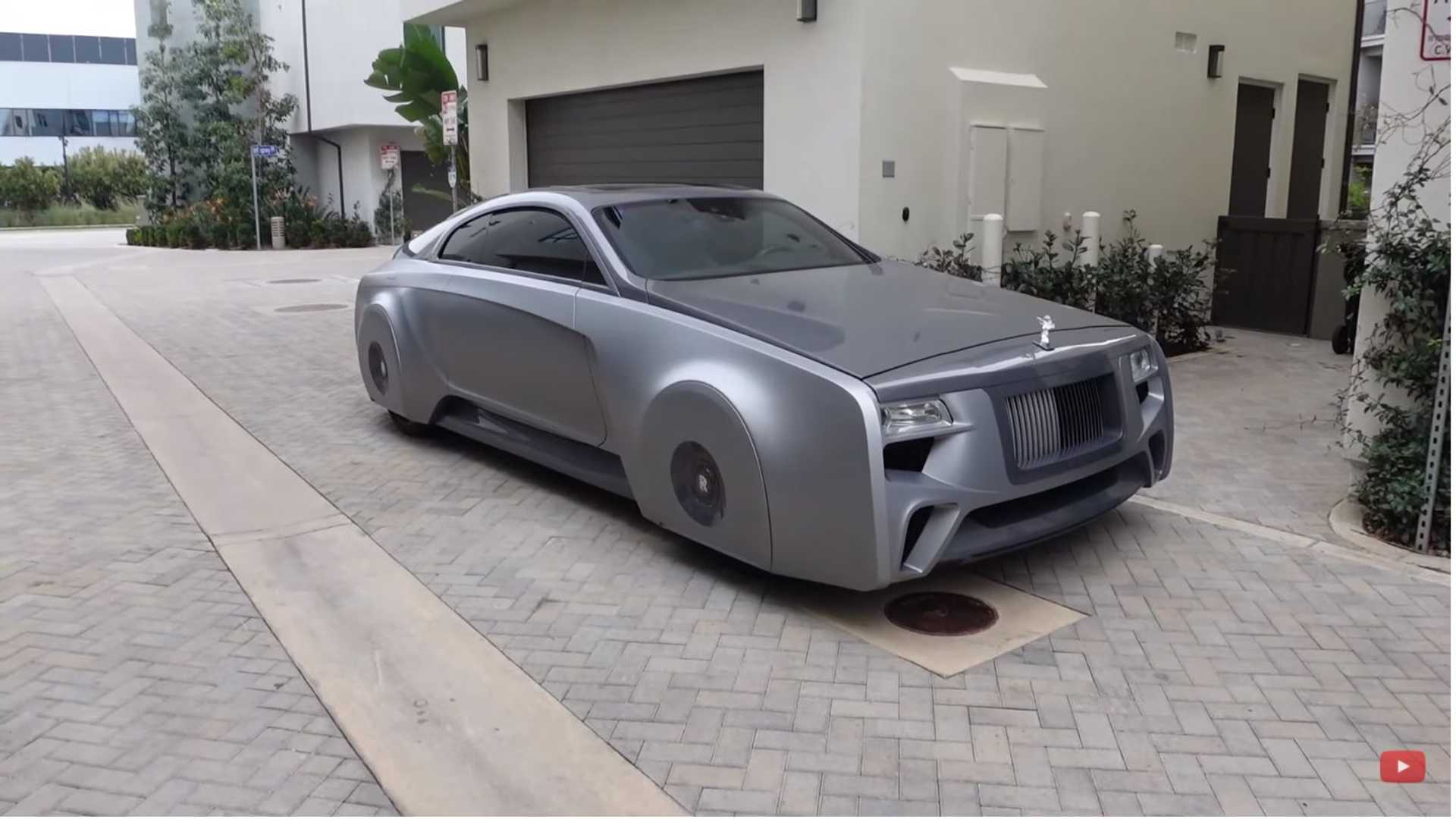 Justin Bieber's Rolls-Royce