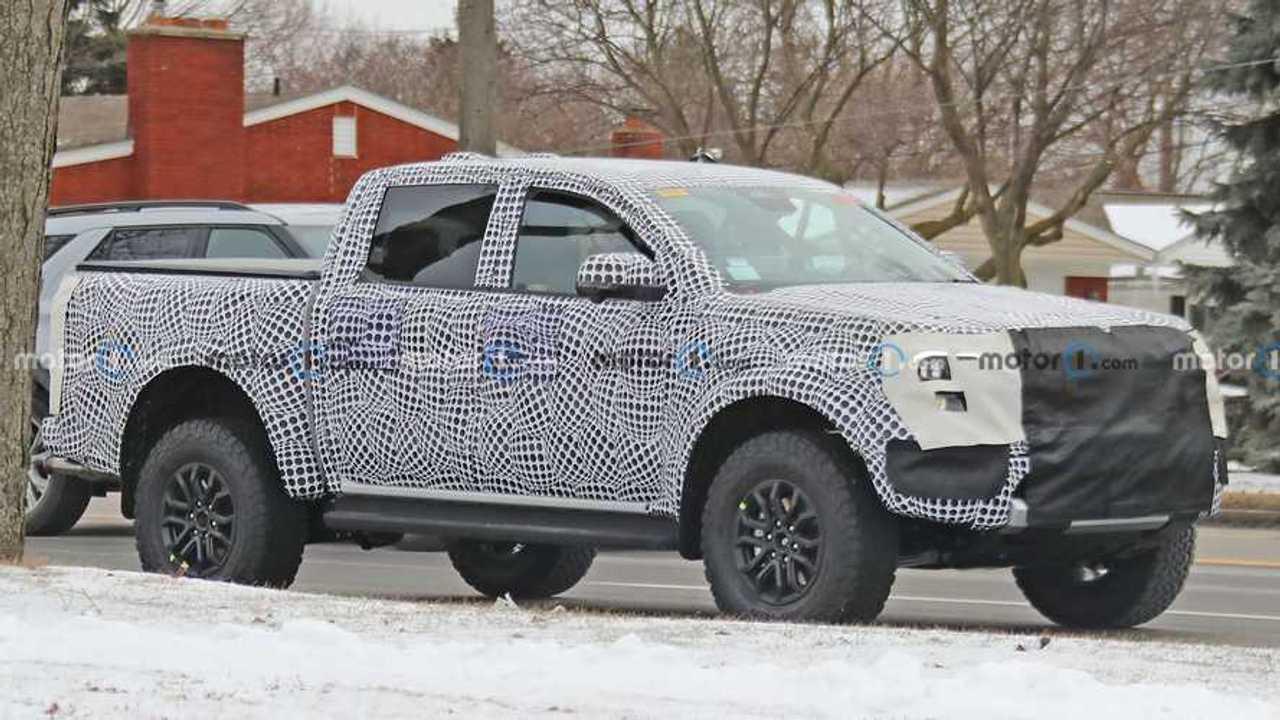 Ford Ranger Raptor Front Spy Photo