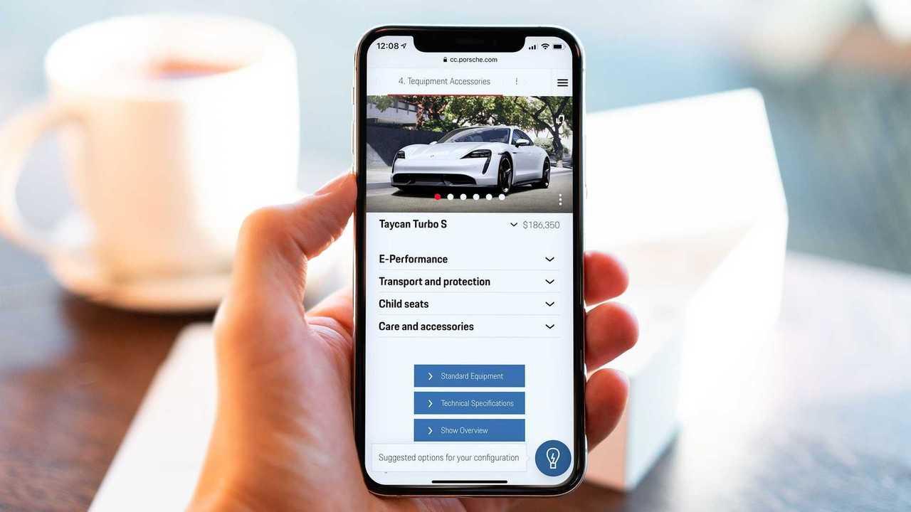 Porsche AI new car configurator