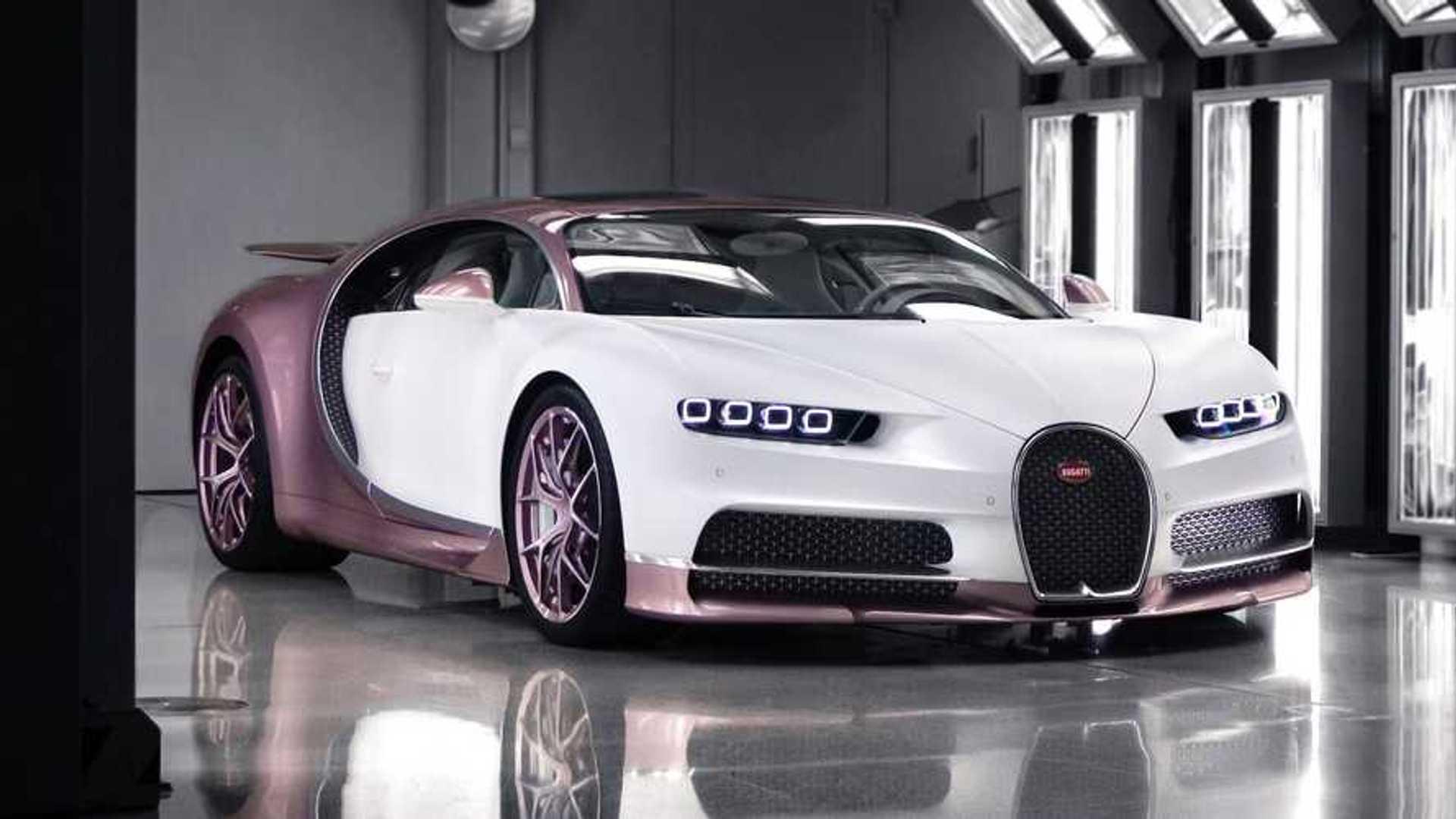 Il offre cette superbe Bugatti Chiron Sport à sa femme - Motor1.com France