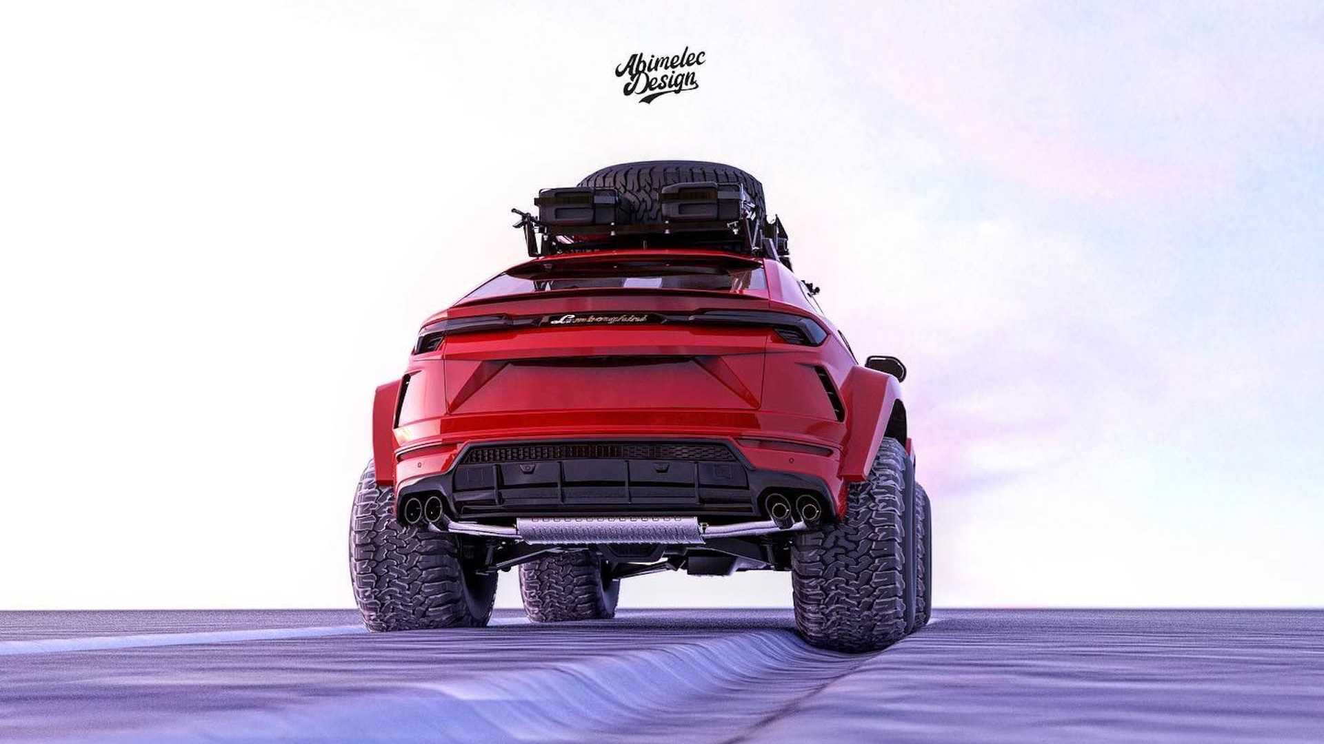 Lamborghini Urus Off-Roader Rendering by Abimelec Design
