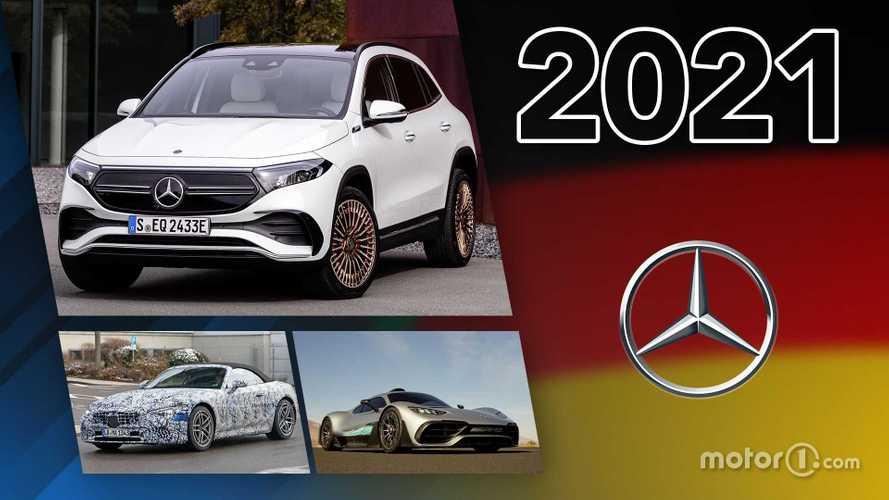 Novità Mercedes, ecco tutti i modelli in arrivo nel 2021