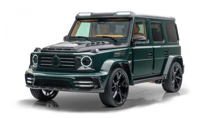 2021 Mercedes-AMG G63 Gronos by Mansory is tuning opulence