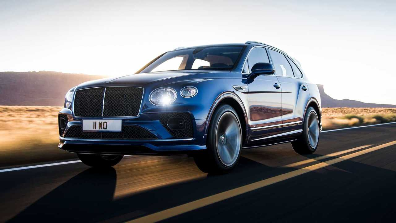 6 - Bentley Bentayga Speed