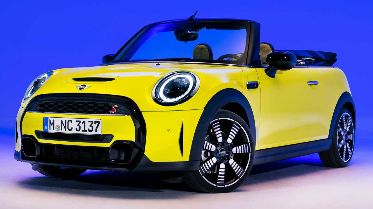 2022 Mini Cooper S Convertible Front