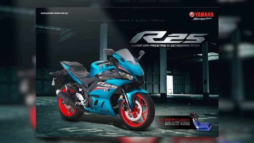 Yamaha YZF-R25 2021 Resmi Diluncurkan di Malaysia