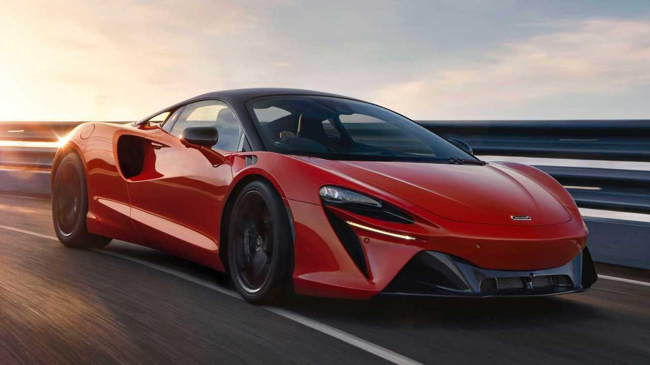 2022 McLaren Artura Exterieur
