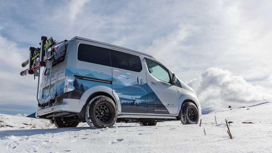 Nissan revela conceito elétrico de veículo recreativo e-NV200 Winter Camper