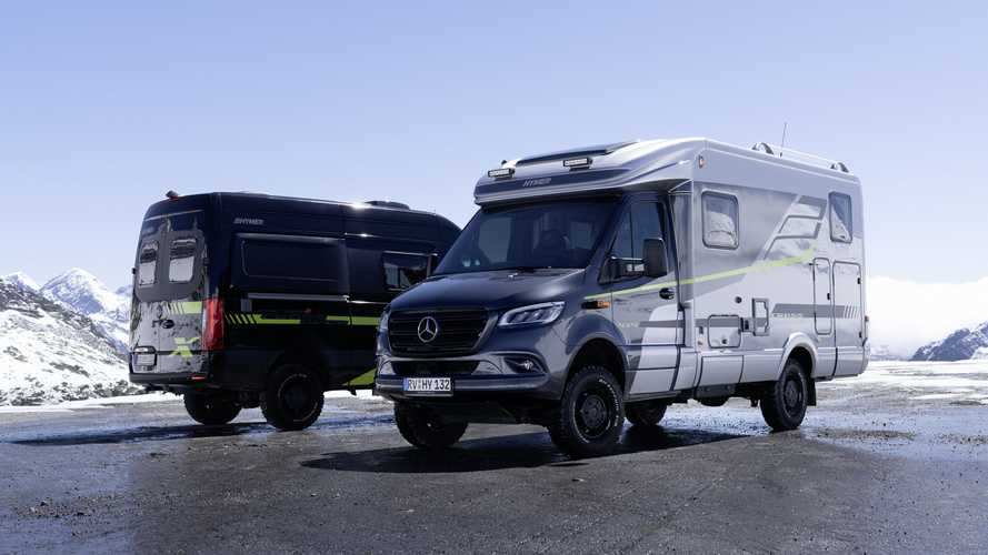 Hymer CrossOver RV And Camper Van Debut With Serious Off-Road Chops