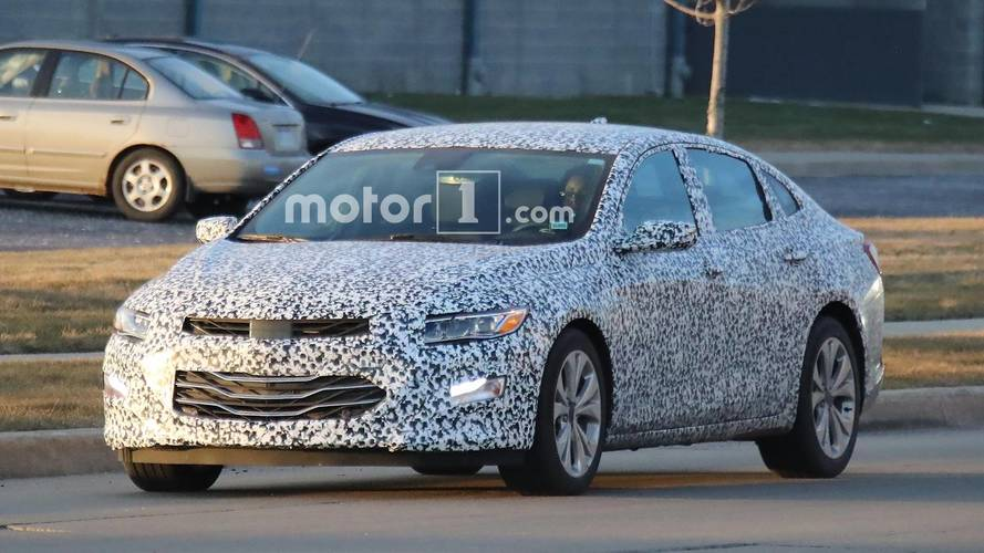 2019 Chevy Malibu Spied Testing With Less Camo
