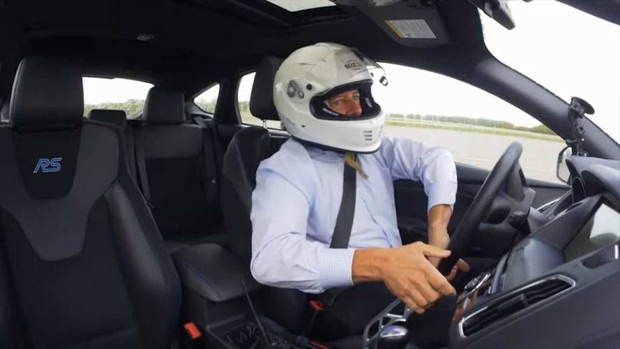 Watch Ford Employees Test The Focus Rs Drift Stick