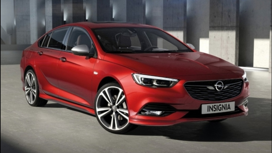 Opel Insignia Grand Sport, vernici personalizzate dal reparto Exclusive