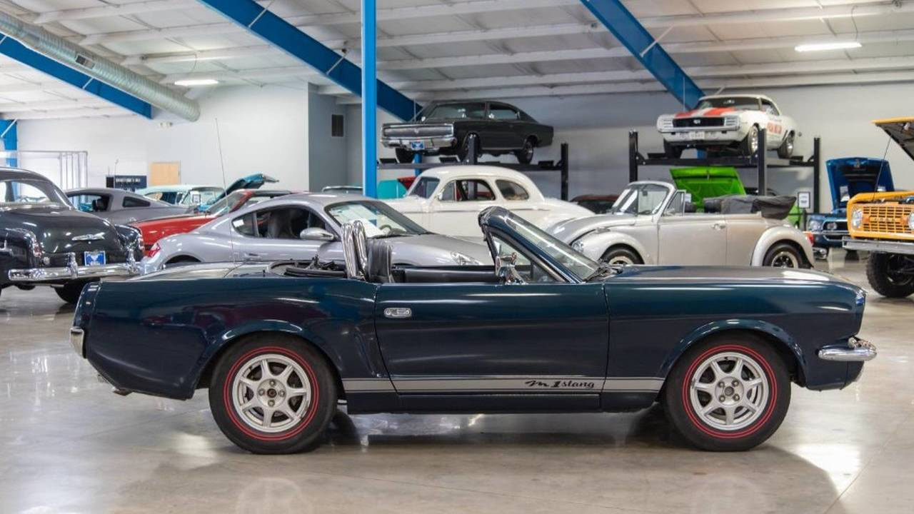 This Classic Mustang Is Actually A Mazda Miata, And It's For