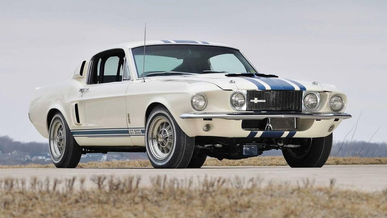 2. 1967 Shelby GT500 Super Snake - $1.3M