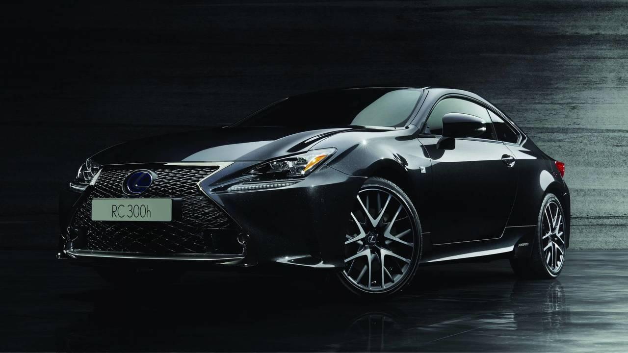 Lexus RC F Sport Black Edition, nera come l'inchiostro giapponese