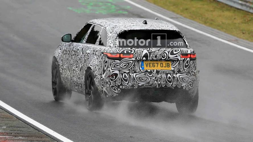 Land Rover Range Rover Velar SVR Casus Fotoğraflar