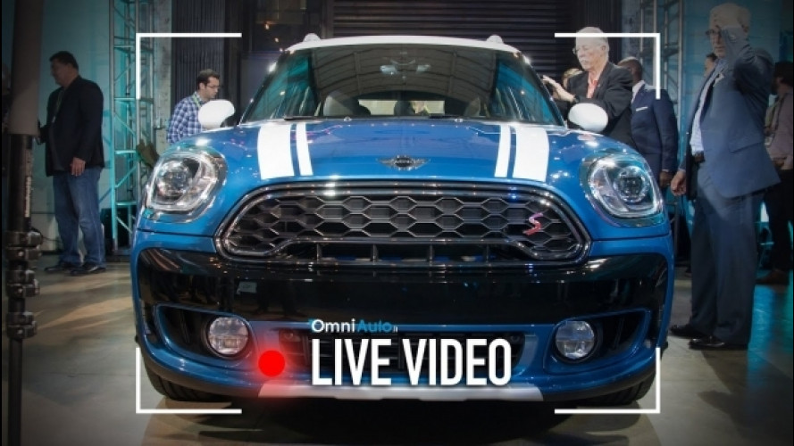 Nuova MINI Countryman, com'è vista da vicino [VIDEO]