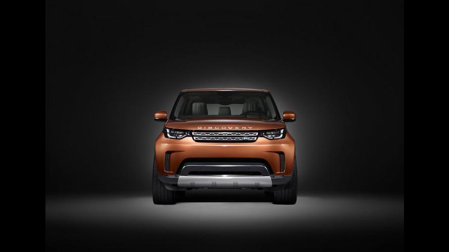 Land Rover Discovery, la prima foto del nuovo modello