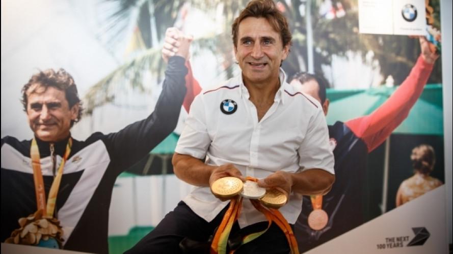"""BMW, Alex Zanardi: """"Io corro per soddisfare me stesso"""""""