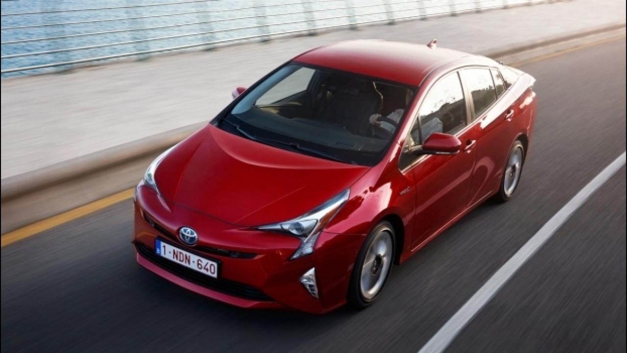 [Copertina] - Toyota Prius, elettrica per il 73% del tempo