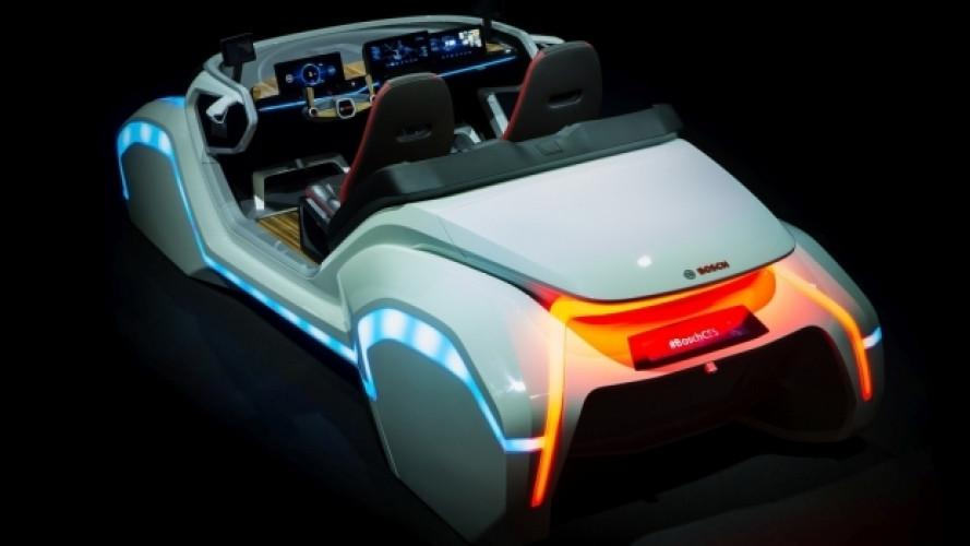 CES 2017, Bosch presenta l'auto col riconoscimento facciale
