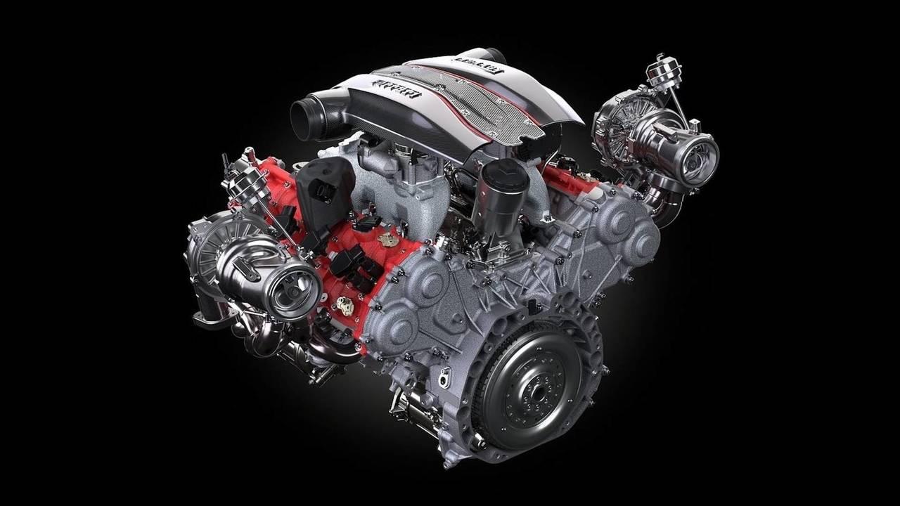 8 cilindros: motor 3.9 V8 (Ferrari)