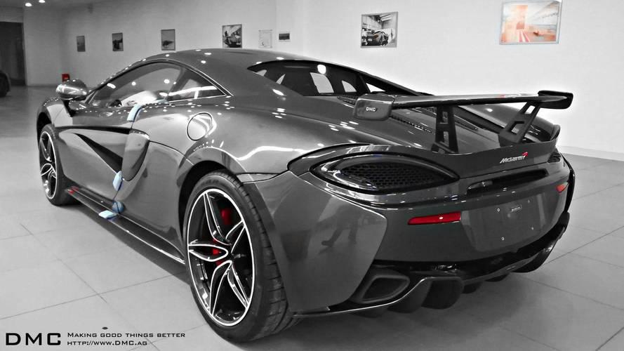640 lóerő fölött a DMC Sports által megdolgozott McLaren 570S
