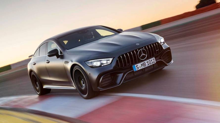 Mercedes Confident GT 4-Door Coupe Won't Overlap With CLS
