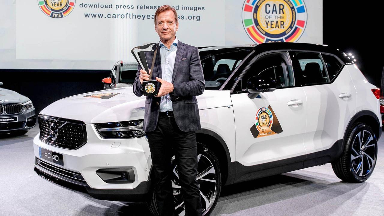 Volvo XC40: Auto des Jahres 2018