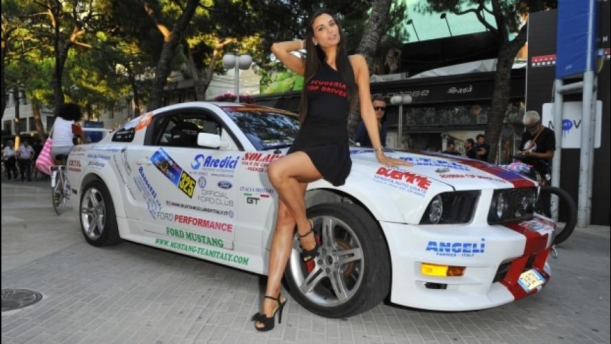Motor Show, la scuderia Top Driver con la Mustang GT