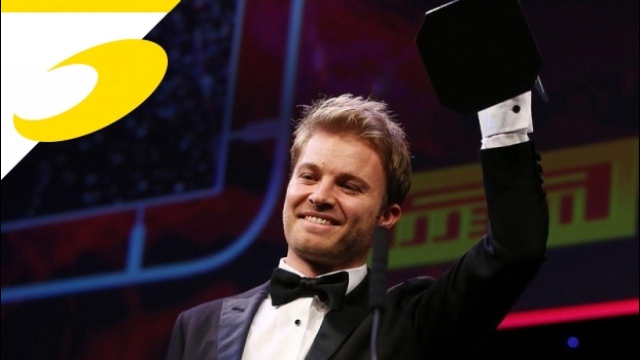 [Copertina] - Autosport Awards: Rosberg, Hamilton e la Mercedes trionfano [VIDEO]