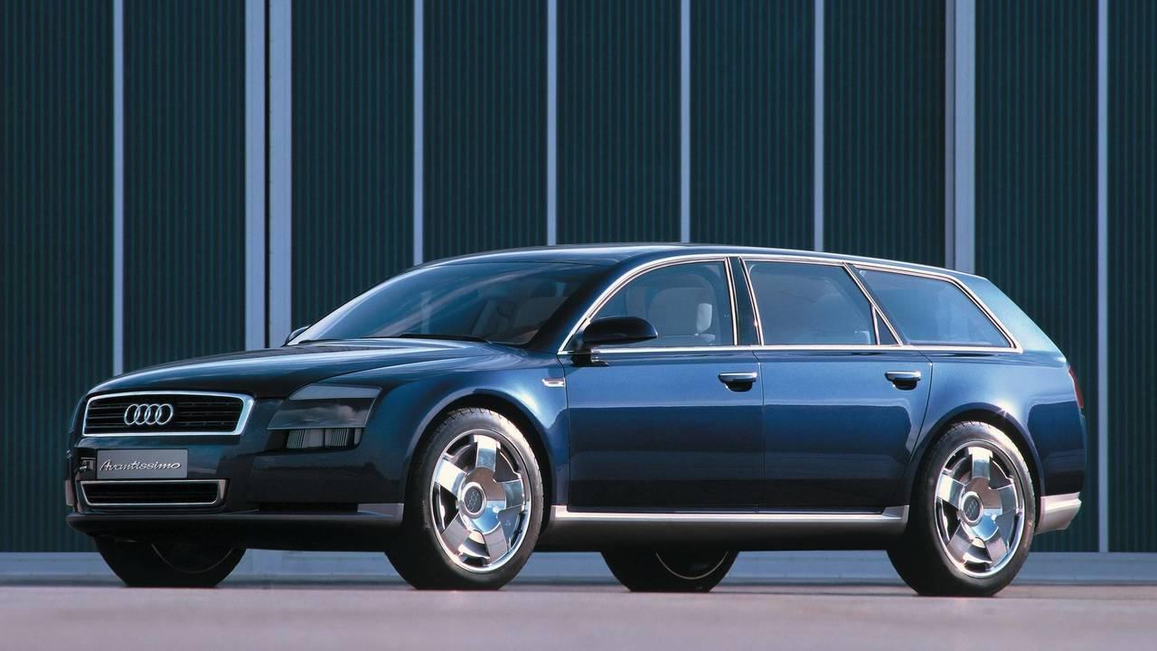 2001 Audi concept Avantissimo