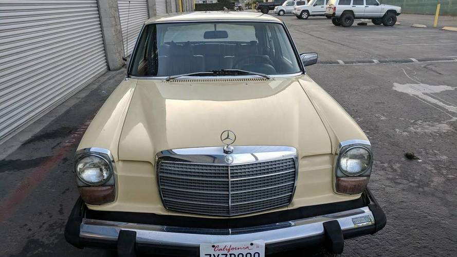 Super Clean Low-Mileage Mercedes 240D Yours For $5,500